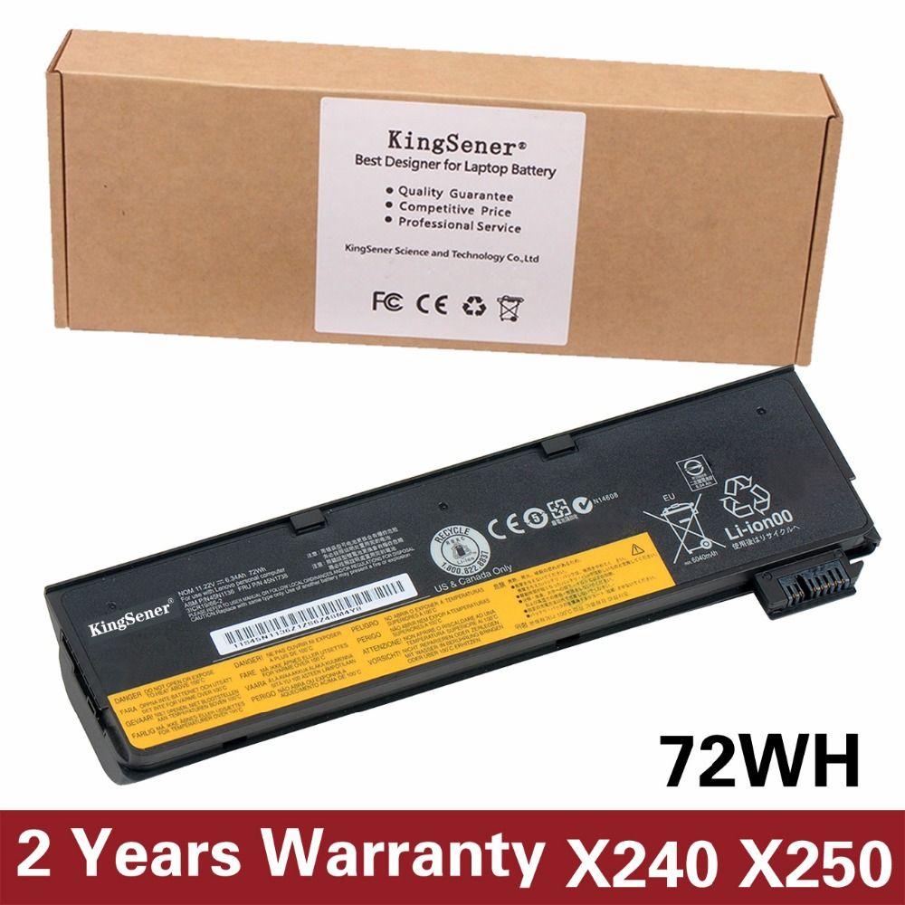 Korea Zelle KingSener Neue Batterie für Lenovo Thinkpad X270 X260 X240 X240S X250 T450 T470P T450S T440 T440S 45N1136 45N1738 72WH