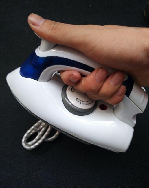 2015 mode faltbare 3 gänge dampf eisen steuer tragbaren handreisetaschen mini eisen dampfer griff rotary 90 grad 700 watt