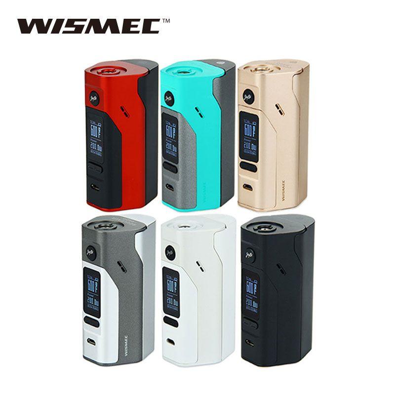 Original Wismec Reuleaux RX2/3 TC 150W/200W Box Mod Upgradeable Firmware Reuleaux RX2 3 TC RX23 Temp Control Mod VS RX200S