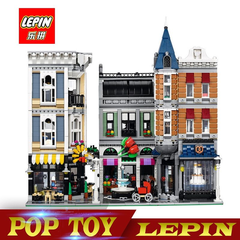 15019 Creator Expert Series ASSEMBLY SQUARE Building Blocks Figures Model Bricks Compatible With legoed creator 10255