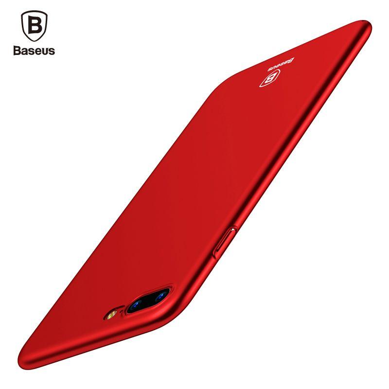 BASEUS Роскошный телефон чехол для iphone 8 7 6 6S S ультра тонкий чехол для iphone 8 7 6 6S плюс capinhas ПК Назад В виде ракушки Coque принципиально