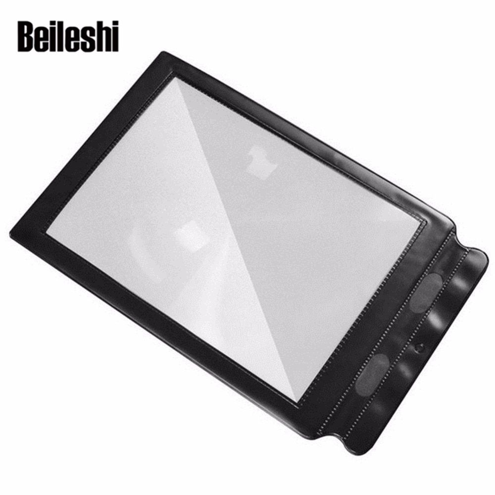 Beileshi Big A4 Full Page Sheet 1PC 3x Magnifier Sheet Large Reading Magnifying Glass Book Aid Lens Magnification