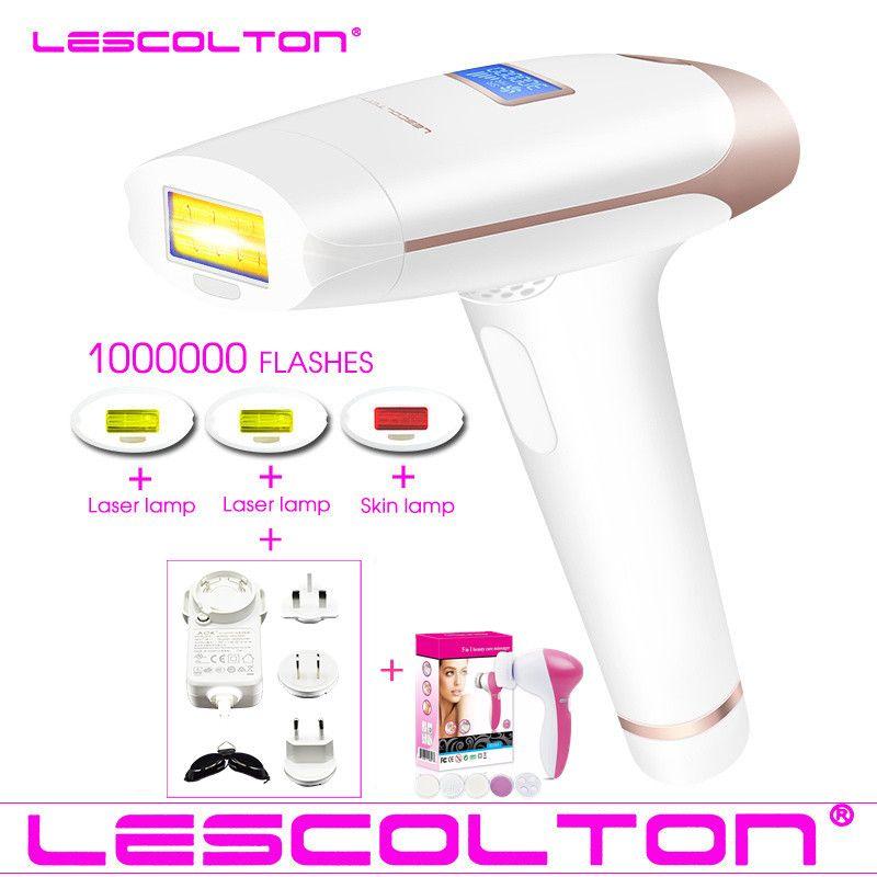 Original Lescolton 4in1 1000000 gepulsten IPL Laser Haar Entfernung Dauerhafte Haar Entfernung IPL laser Epilierer Achselhöhle Haar Entfernung