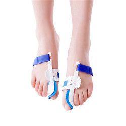 1 Pair Bunion Corrector Hallux valgus Orthognathic Toe Separator Rectum Valgus Orthopedic Foot Care Tools Use At Night
