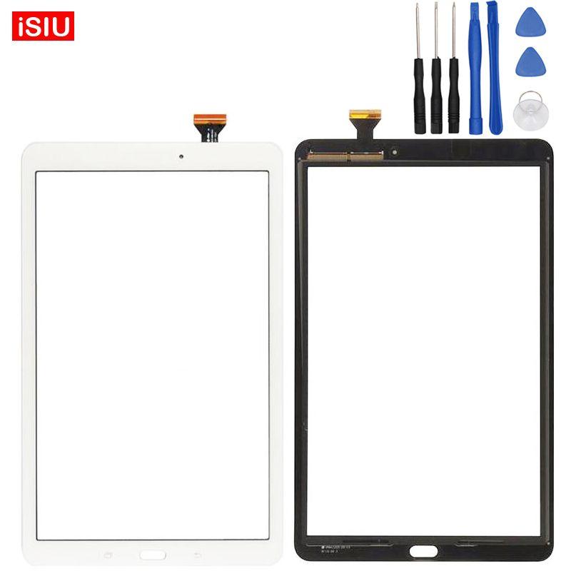 9.6 pouce Nouveau Pour Samsung Galaxy Tab E T560/T561/SM-T560/SM-T561 LCD Écran Tactile Lentille En Verre extérieur Panneau Avant + Outils