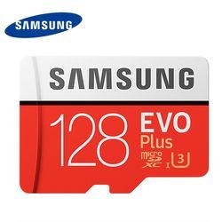 Новый Samsung 32 г 64 г 128 г карты памяти U3 4 К Micro SD SDHC SDXC TF Класс класса 10 Micro SD C10 UHS TF Trans Flash MicroSD 100 МБ/с.