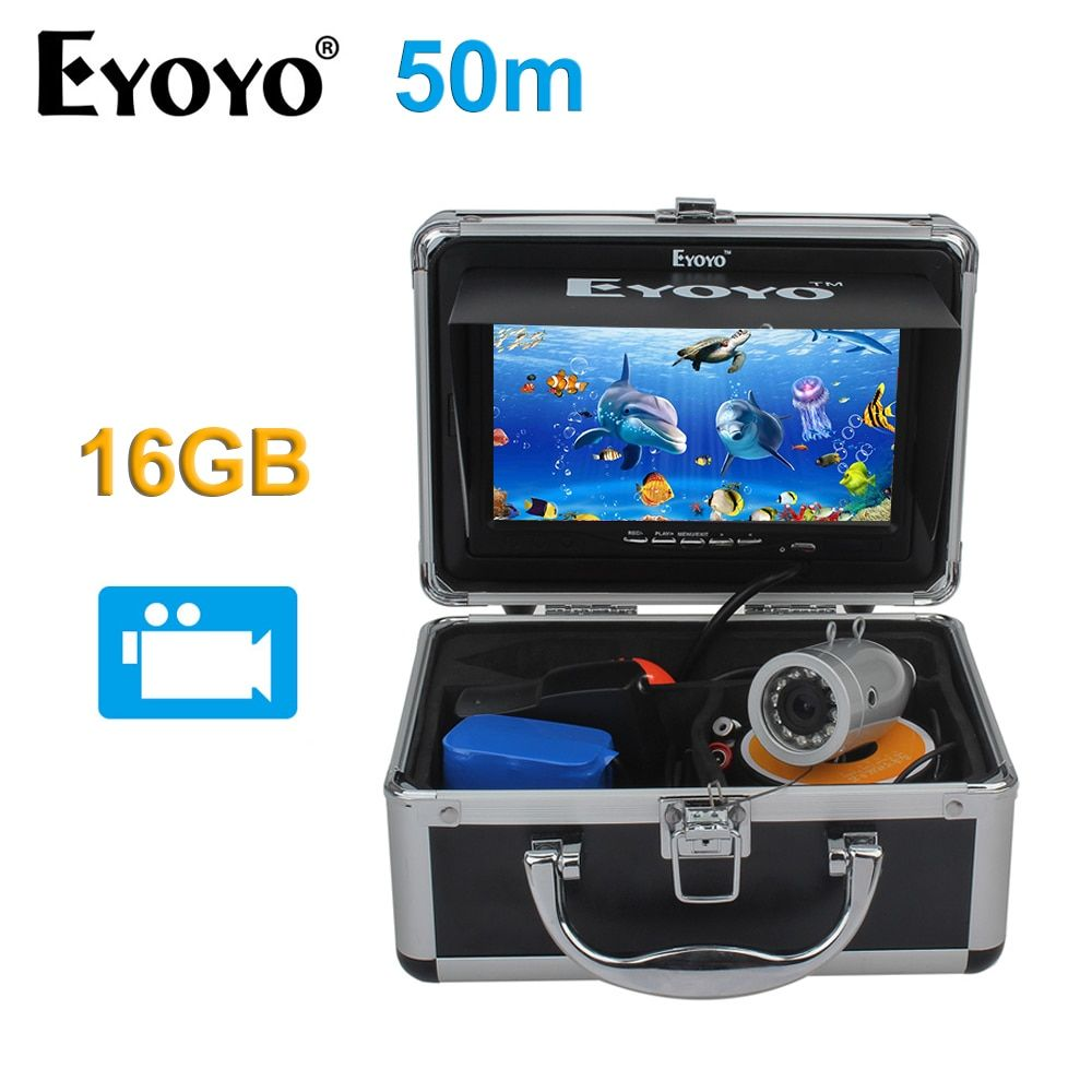 EYOYO Full Silver 16GB Fish Finders 7