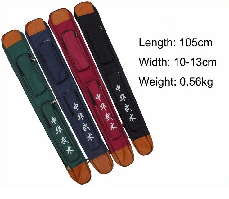 High quality martial arts kung fu tai chi double and single layers Sword bags 105cm multicolor sword bags free shipping