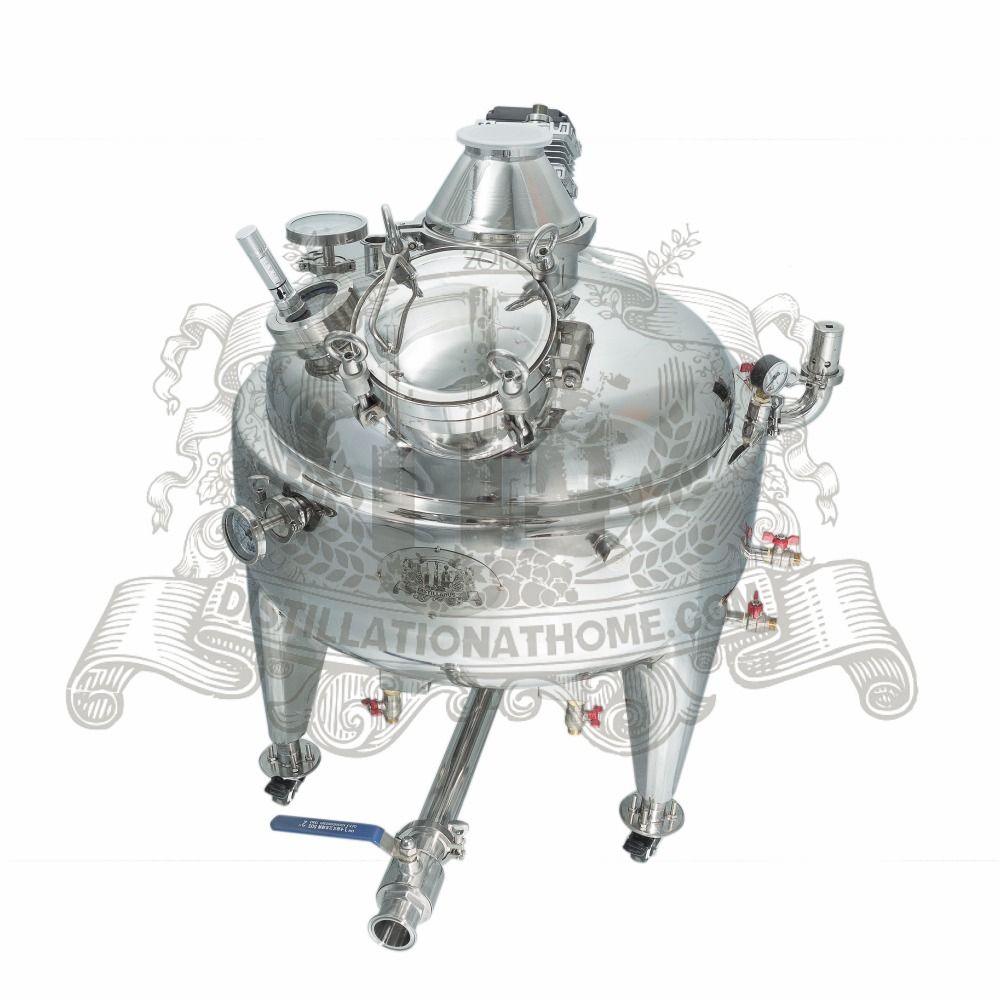 NEW 100l steam jacket SS304 boiler for distillation.
