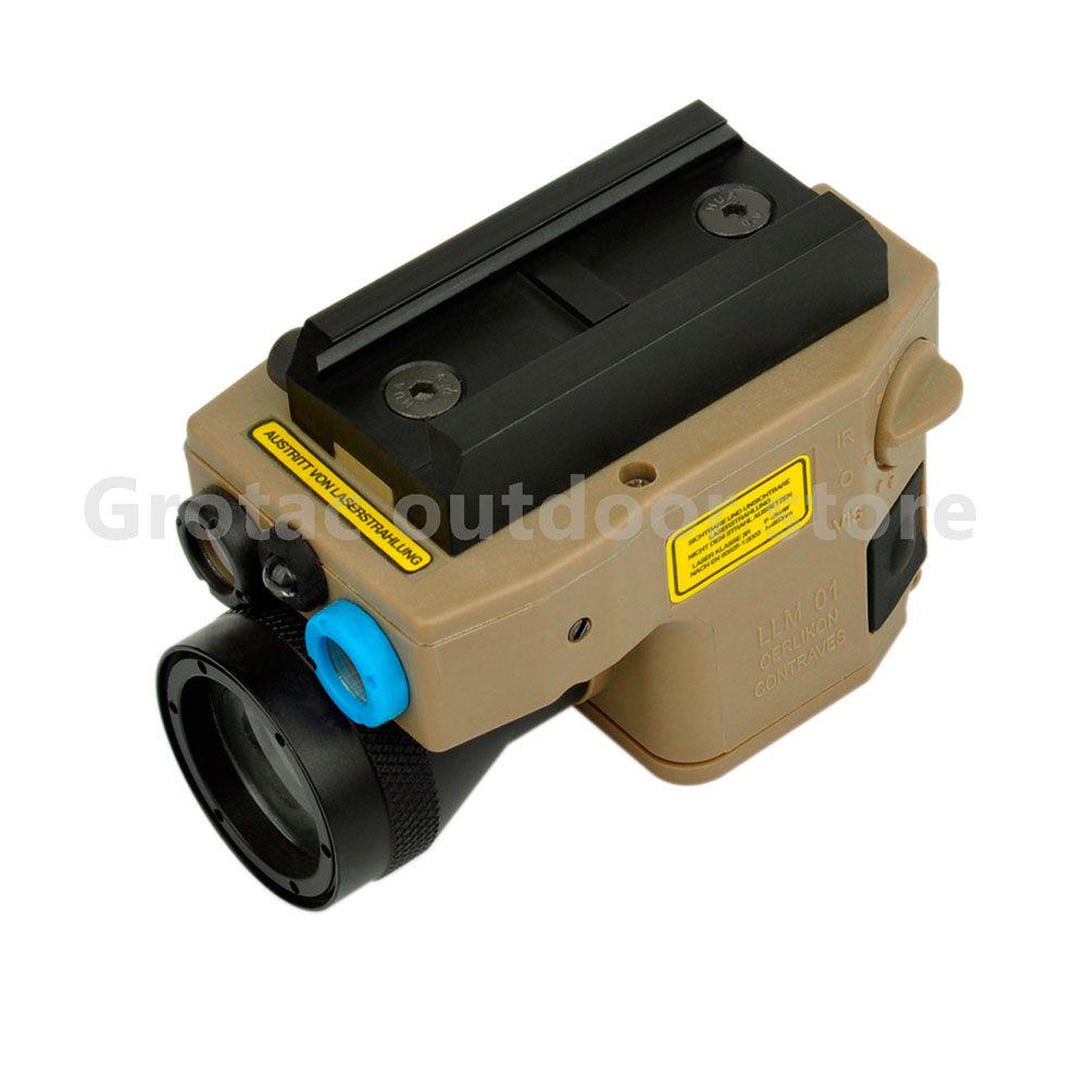 Jagd lichter Element tactical light Red Laser/IR LED/IR Laser Taschenlampe ELLM 01 Laserpointer version Taktische taschenlampe