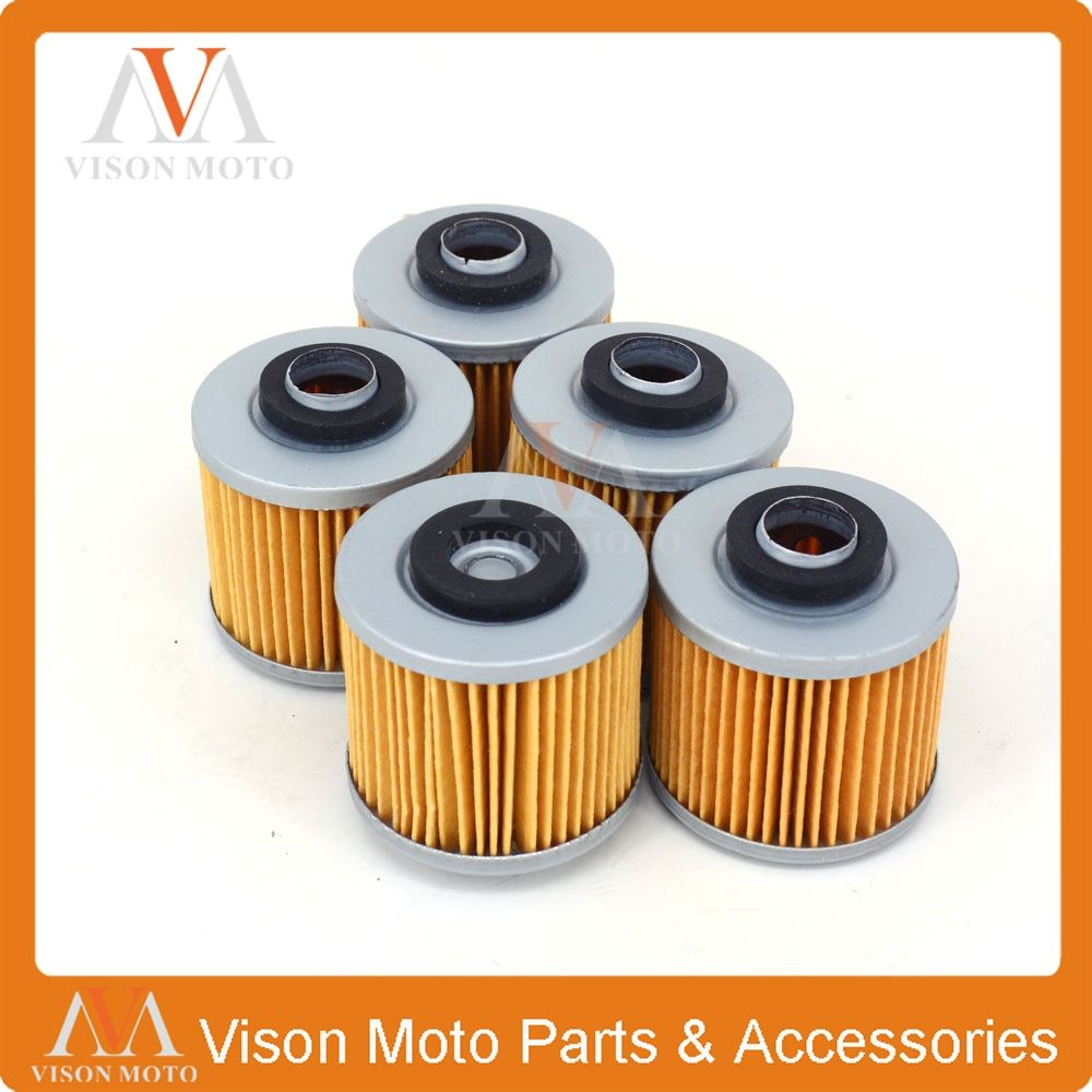 5PCS Motorcycle Oil Filter Cleaner For YAMAHA XTZ750 XV750  XTZ XV 750 TDM850 TRX850 TDM TRX 850 TDM9005PS TDM900 TDM 900 XV920