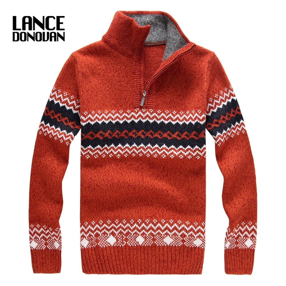 2016 Winter thick christmas Sweater men fashion brand 4 COLORS Pullovers size S-2XL