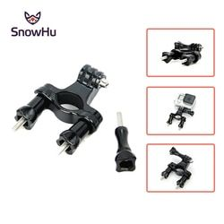 SnowHu for Gopro Accessories Bike Handlebar Seatpost Pole Mount Tripod for Gopro Hero 5 4 3+ 2 1 Xiaomi YI SJCAM SJ4000 TP01