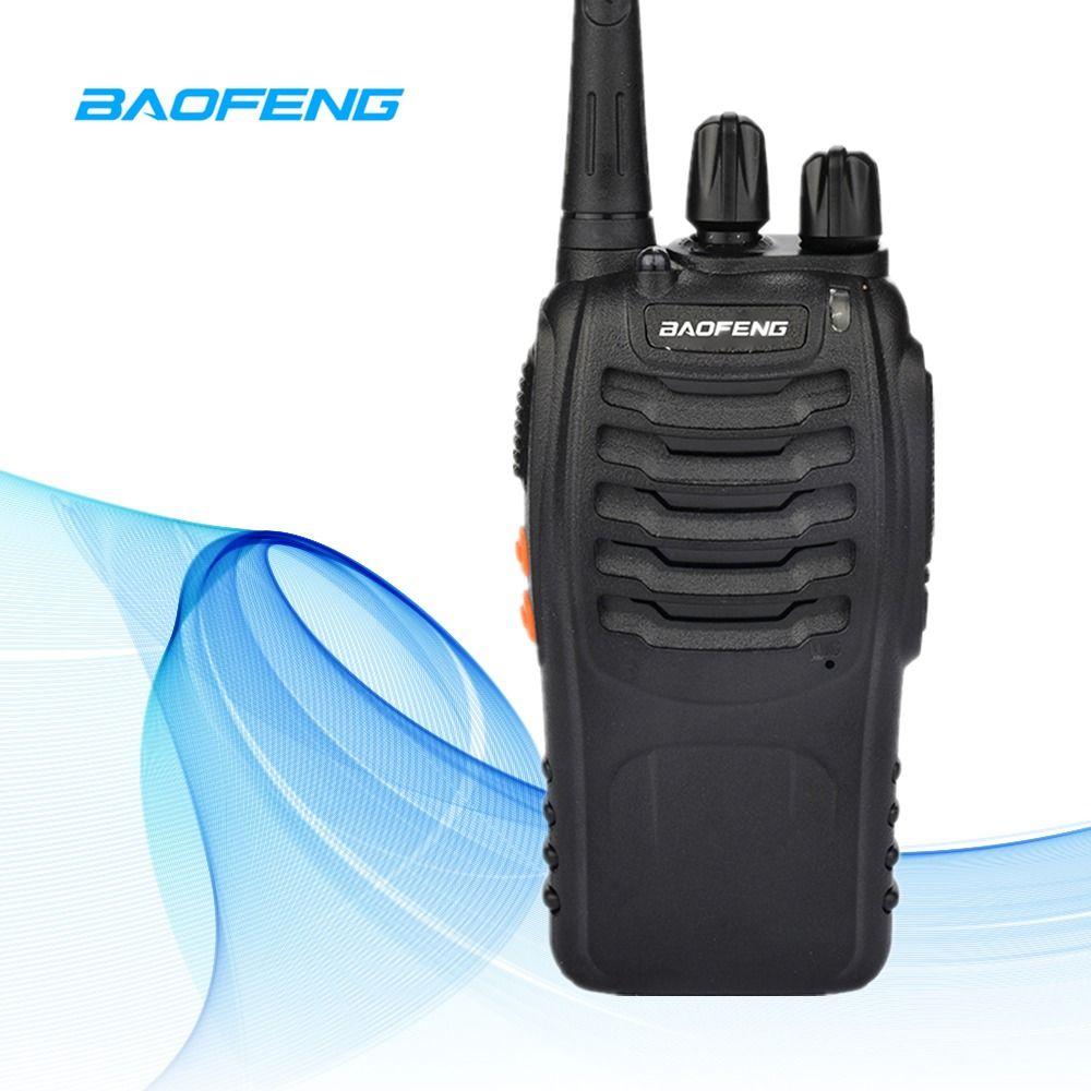 6 km BF-888S Talkie Walkie Baofeng 888 s 5 w 16 Canaux 400-470 mhz UHF FM Transceiver Deux way Radio Comunicador Pour En Plein Air Racing