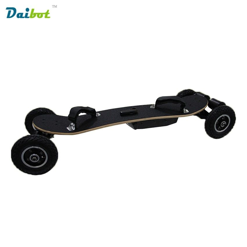 4 Four Wheels Electric Skateboard Hub Motor 1650W*2 Max 11000mAh Electric Scooters Longboard Hoverboard Remote key pneumatic