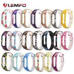 LEMFO Smart Band Sport Fitness pulsera para Xiao mi banda 2 Color correa de reloj reemplazo de silicona moda lindo para mujeres