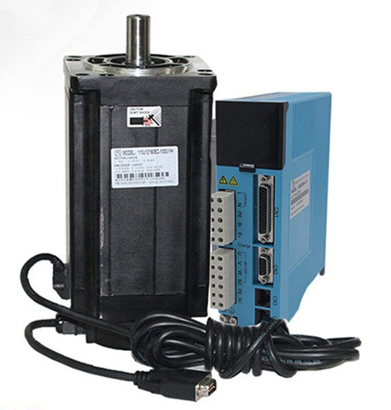3 phase NEMA42 20Nm 2830ozf. in Geschlossenen schleife Stepper servomotortreiber kit JMC 110J12190EC-1000 + 3HSS2208H