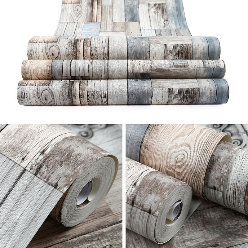 Chinese modern wood 3d wallpaper roll wall paper photo wall mural  for living room wall sticker for nature HML20974