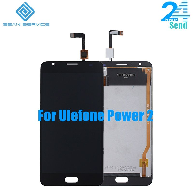 For Original Ulefone Power 2 in Mobile phone LCD Display +TP Touch Screen Digitizer Assembly lcds +Tools 5.5