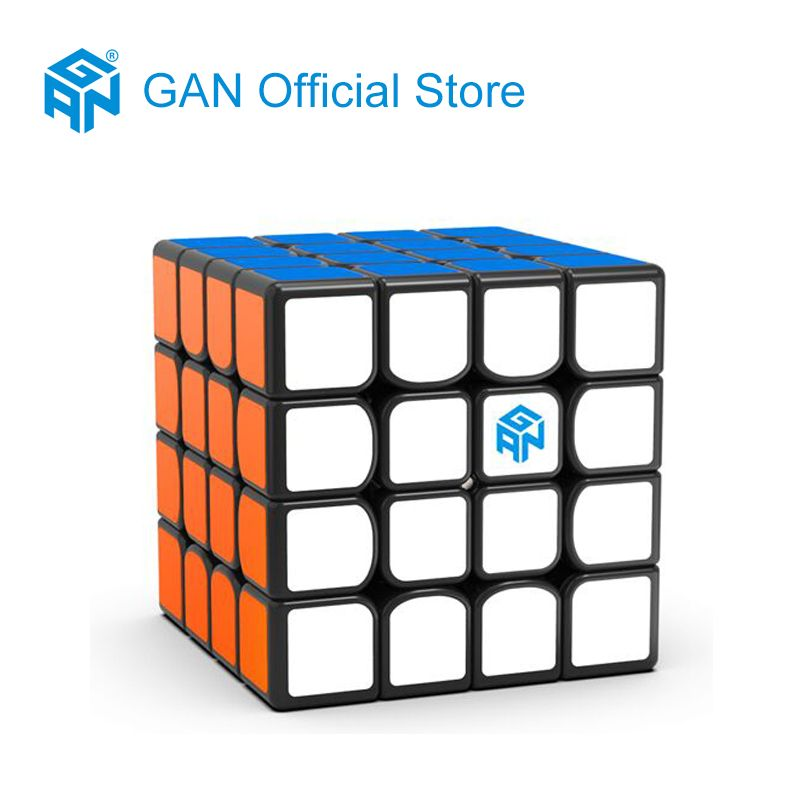 GAN460 M 4*4*4 Magnetic Professional Speed Magic Cube Educational Puzzle Toys For Children Learning Cubo Magic Toys