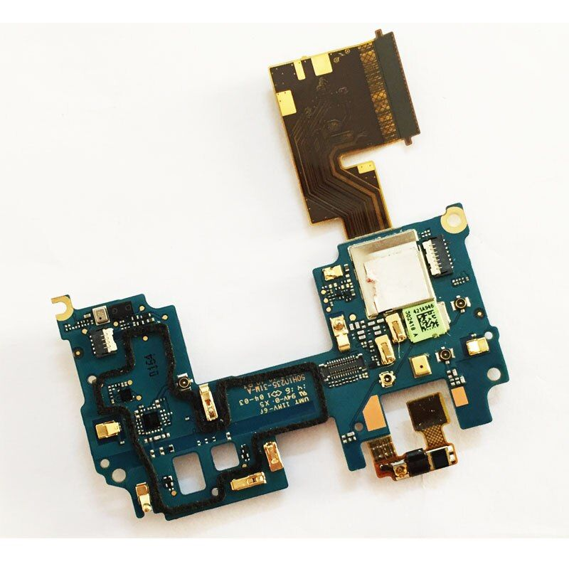 For HTC One M8 Mainboard Motherboard FPC Connector Main Flex Cable With Microphone Power Switch Module Replacement