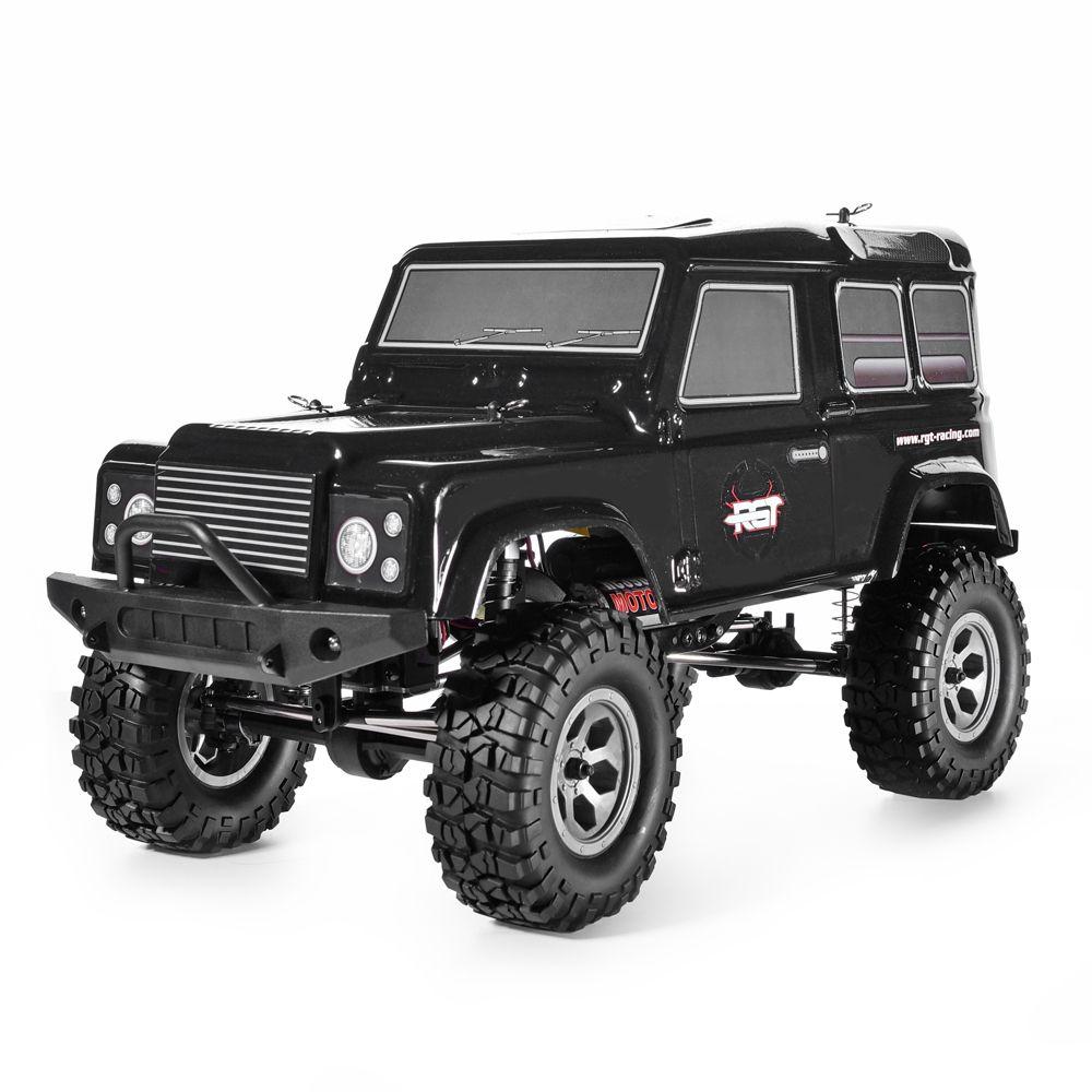 RGT Rc Crawlers 1:10 4wd Rc Car RTR Off Road Truck Rock Crawler 4x4 390 Motor Waterproof Hobby Rock Cruiser RC-4 136100PRO