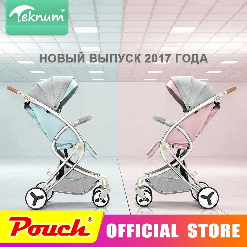 Teknum kinderwagen können sitzen flach liegen landschaft klapp baby kinder neugeborenen wagen Teknum