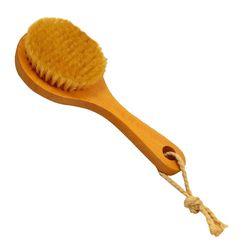 Ванна с длинной ручкой щетины Детокс деревянный ручка тело щетка кожи кисти MYDING