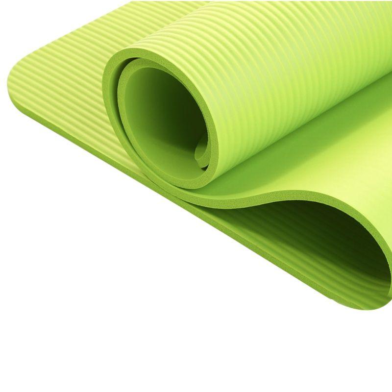 2018 nouveau 4 utilitaire exercice Yoga tapis antidérapant épaisseur Pad pliable Fitness Pilates tapis Fitness 4 couleurs