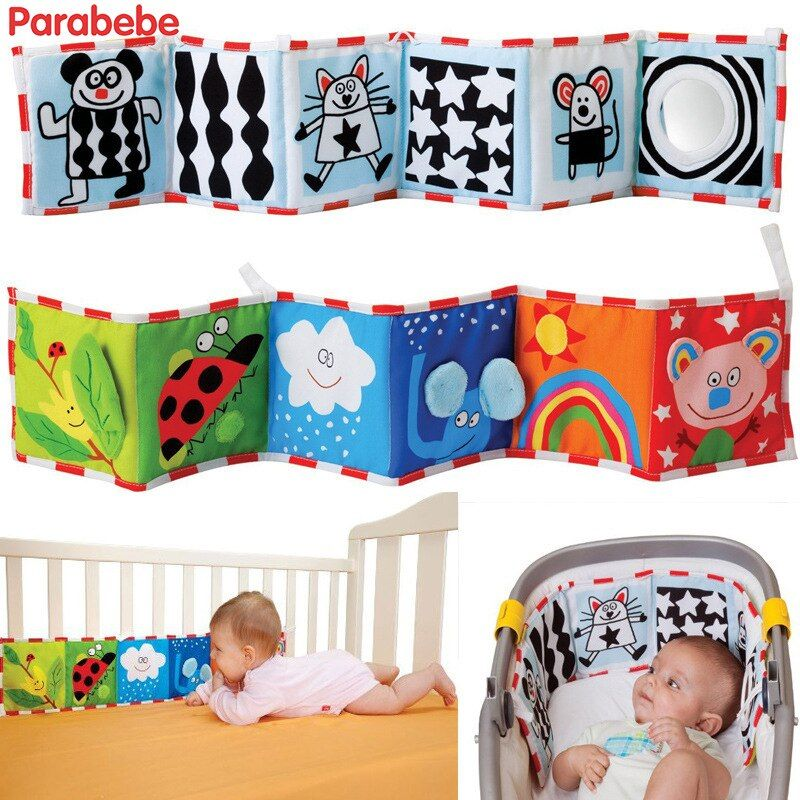 multifunctional baby bedding bumper newborn baby crib children cot bedroom bumpers with mirror in the crib baby bed safety rail