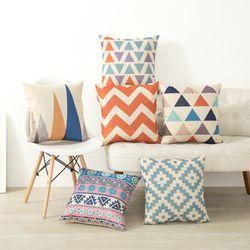 Nordic Bantal Sarung Bantal Penutup Dekoratif Bantal Dekoratif Meliputi Linen Decor Cotton Untuk Sofa Funda Cojin Skandinavia