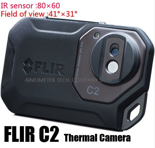 FLIR C2/ C3-Wi-Fi All New Original Infrared Thermal Imager thermal camera pocket size IR Camera Heat Sensor FLIR C2/C3