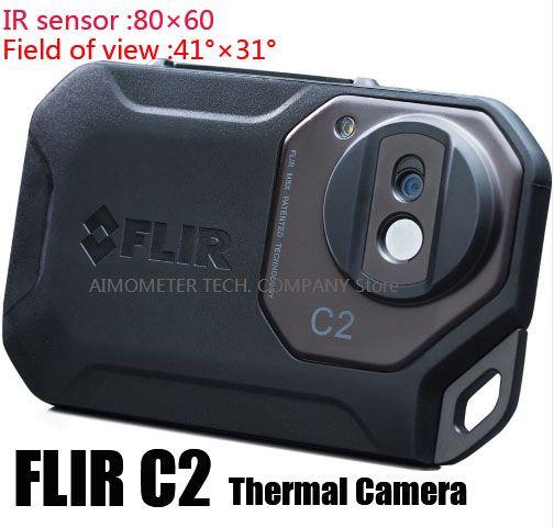 FLIR C2/C3-Wi-Fi Alle Neue Original Infrarot Wärmebildkamera wärmebildkamera taschenformat IR Kamera Wärmesensor FLIR C2/C3