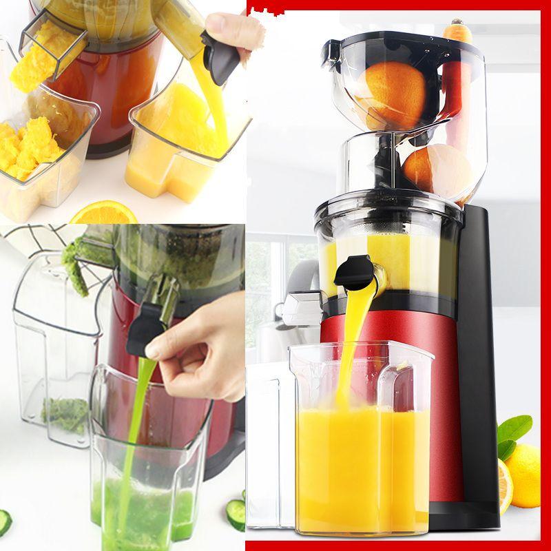 220 v Haushalt Elektrische Langsam Entsafter Automatische Obst Gemüse Saft Mixer Maschine Soja-bean Milch Maker Maschine EU/ AU/UK/US