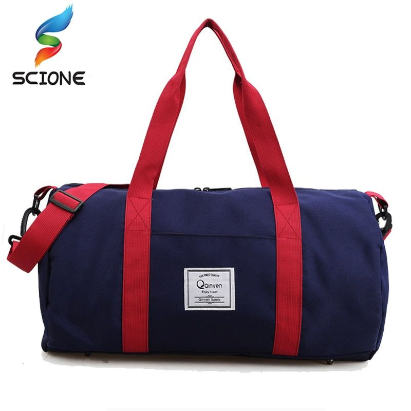 2018 Top Quality <font><b>Fitness</b></font> Gym Sport Bags Men and Women Waterproof Sports Handbag Outdoor Travel Camping Multi-function Bag