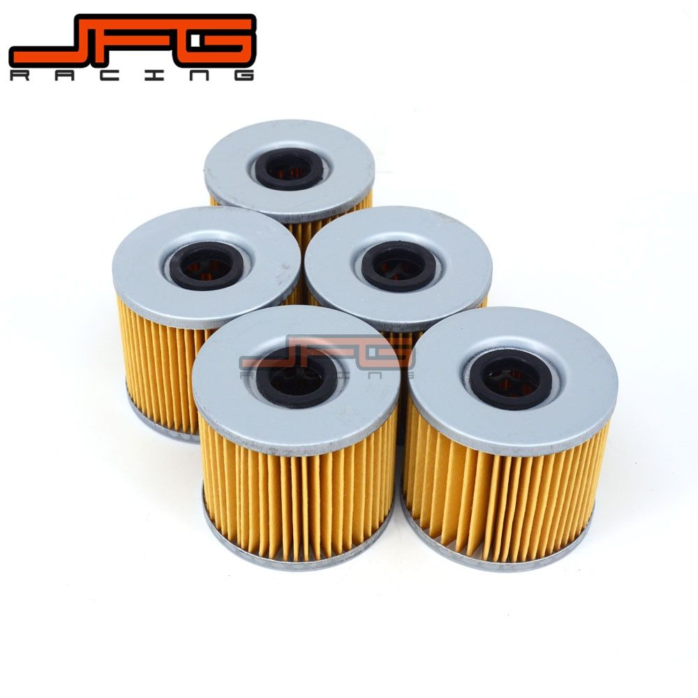 5Pcs Oil Filter Cleaner For Bimota 750 SB2 1000 SB3 1100 SB4 SB5 SUZUKI GSXR250 GSF400 GSX400 GS450 GS500 GS550 GS650 GR650 XN85