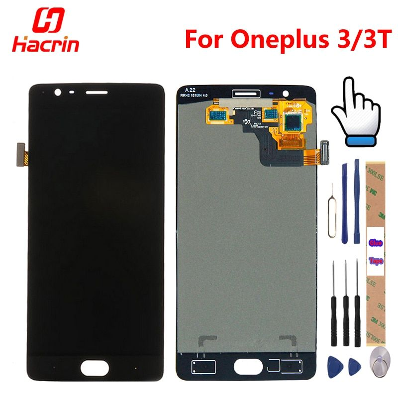 Oneplus 3T LCD Display Touch Screen 100% New FHD 5.5