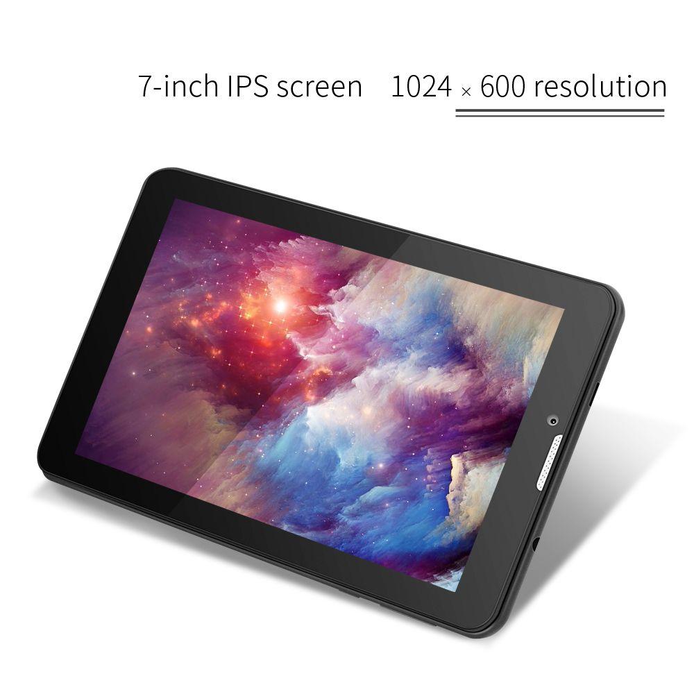 Yuntab 7 pouce 3G Débloqué Smartphone Tablet PC Android 5.1 MTK8321 1.3 GHz Quad Core IPS 1024*600 Google GPS Bluetooth