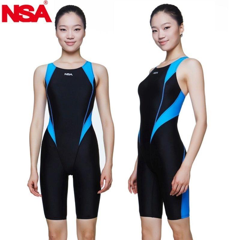 NSA maillots de bain livraison gratuite femmes formation professionnelle compétition maillots de bain filles imperméables enfants course maillot de bain maillot de bain