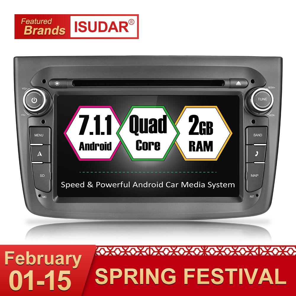 Isudar Auto Multimedia-player 1 din Auto DVD android 7.1.1 7 Zoll Für Alfa Romeo mito 2008-Quad Core 2G RAM Radio FM GPS USB DVR