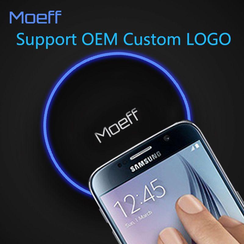 Мобильный телефон ци Беспроводной Зарядное устройство площадку для Samsung Galaxy S8 S6 S7 S7 Edge iPhone X 8 8 плюс Беспроводной зарядки логотип oem