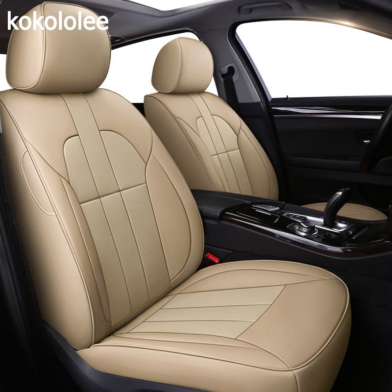 Kokololee individuelle echt leder auto sitz abdeckung für mercedes benz E C Viano ML GLK GLA GLE GL CLA CLS S R A B CLK SLK G GLS GLC auto