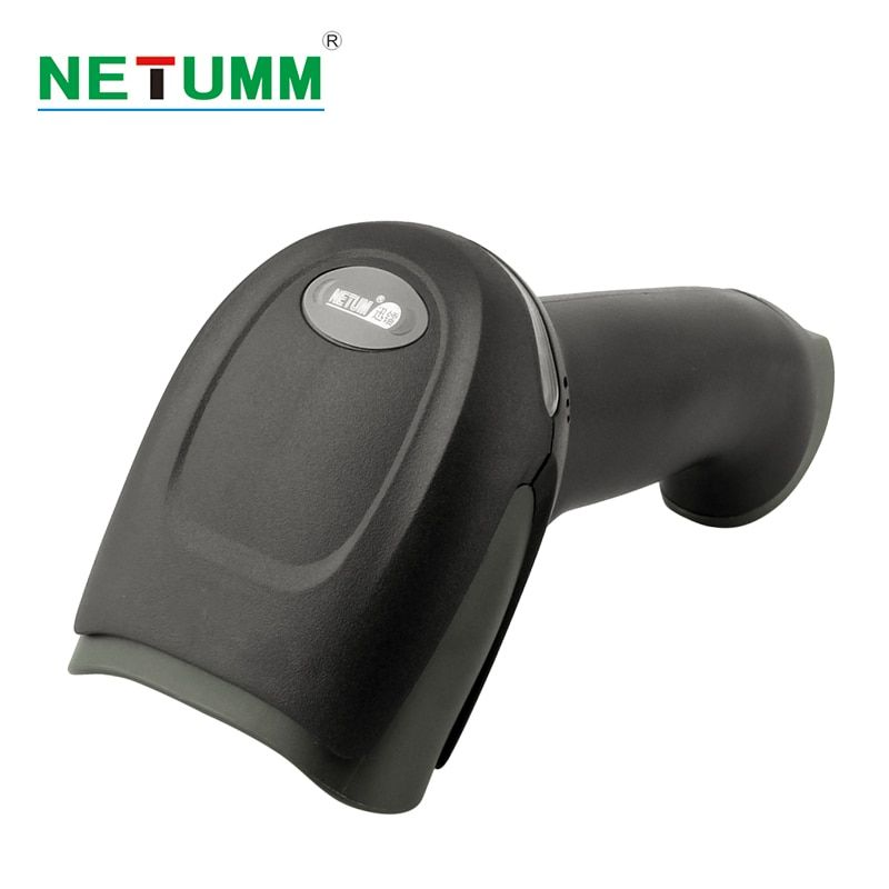 NETUM wireless Laser Barcode-scanner tragbare NT-2028 langstrecken Schnurloses Bar code für POS inventar USB reader mobile payment