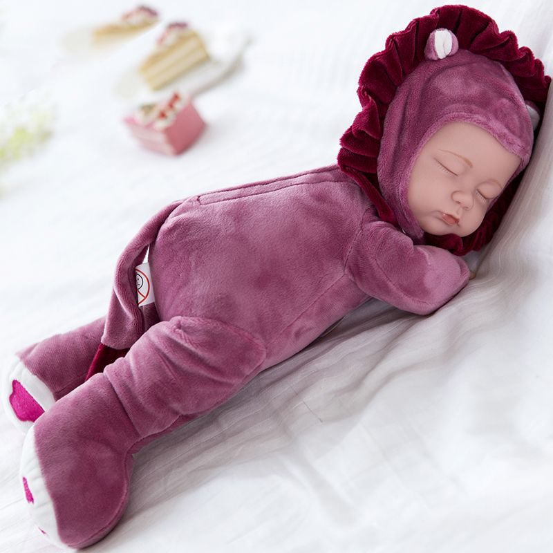 35 см Кукла Reborn куклы для детей, сопровождать сна милый виниловые куклы Плюшевые Игрушки для маленьких девочек подарок коллекция