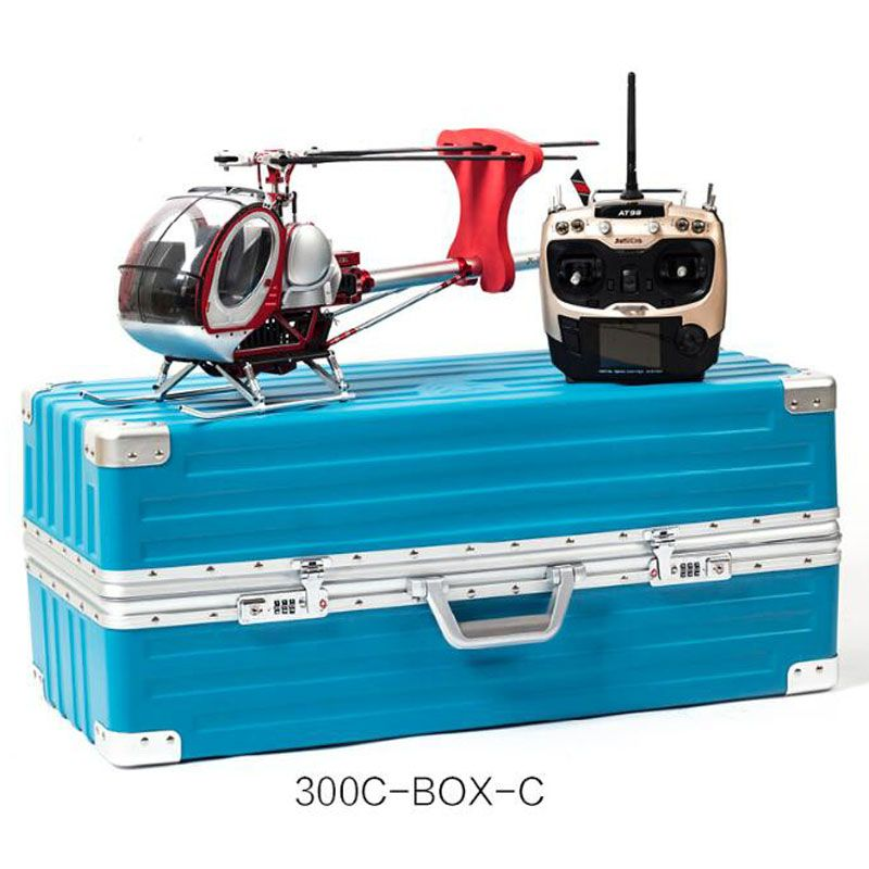 JC300C Metal 9CH RC Helicopter 2.4G Brushless RTF/PNP/KIT Set DFC Electric High Simulation Helicopter 60A ESC/3 blades Drone