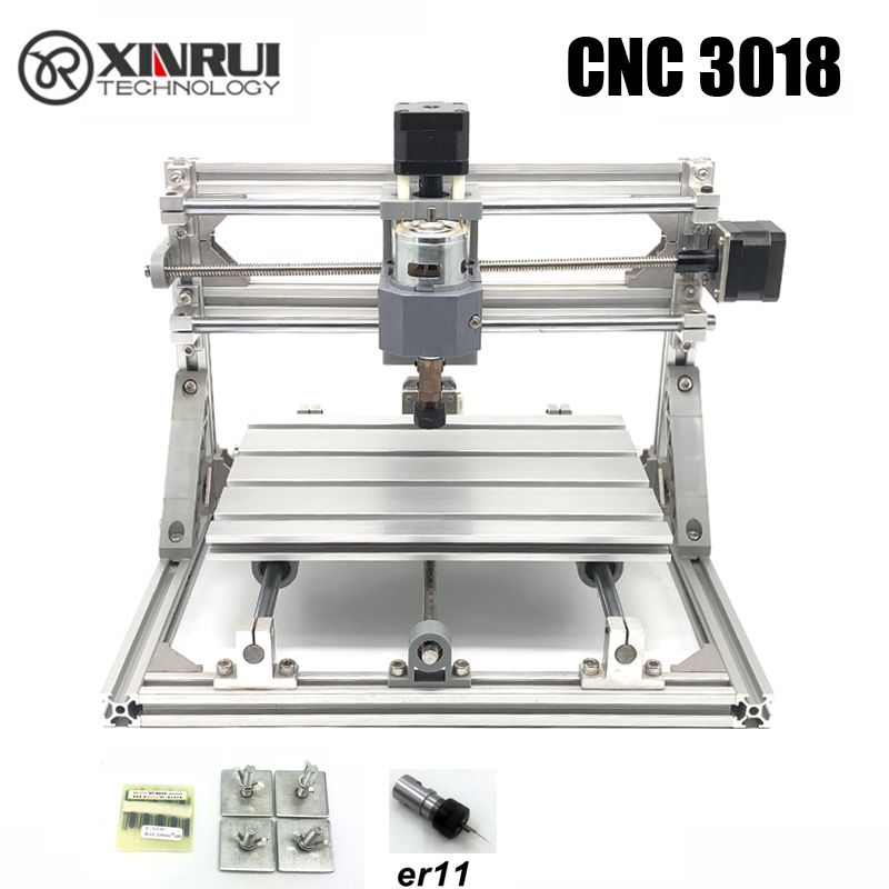 CNC 3018 ER11 GRBL <font><b>control</b></font> Diy CNC machine,3 Axis pcb Milling machine,Wood Router laser engraving,best toys