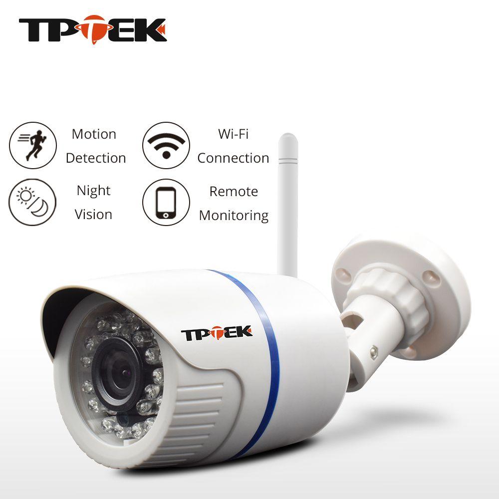 HD 1080 p Caméra IP Extérieure WiFi de Sécurité À Domicile Caméra 720 p 960 p de Surveillance Sans Fil Wi Fi Bullet Étanche IP Onvif Camara Cam