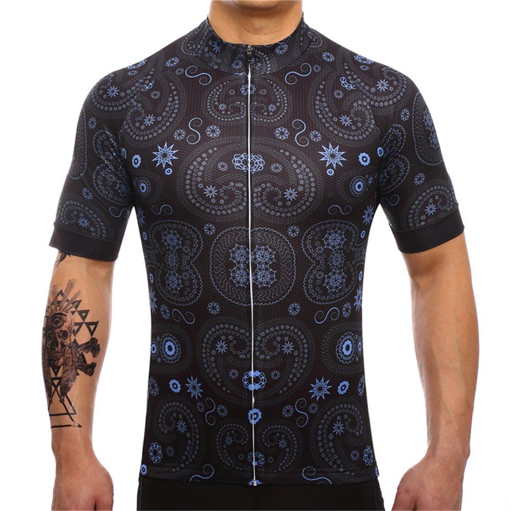 FUALRNY 2018 Pro Cycling Jersey Vtt Vêtements De Vélo Vélo Porter Des Vêtements Courts Maillot Roupa Ropa De Ciclismo Hombre Verano # DX-22