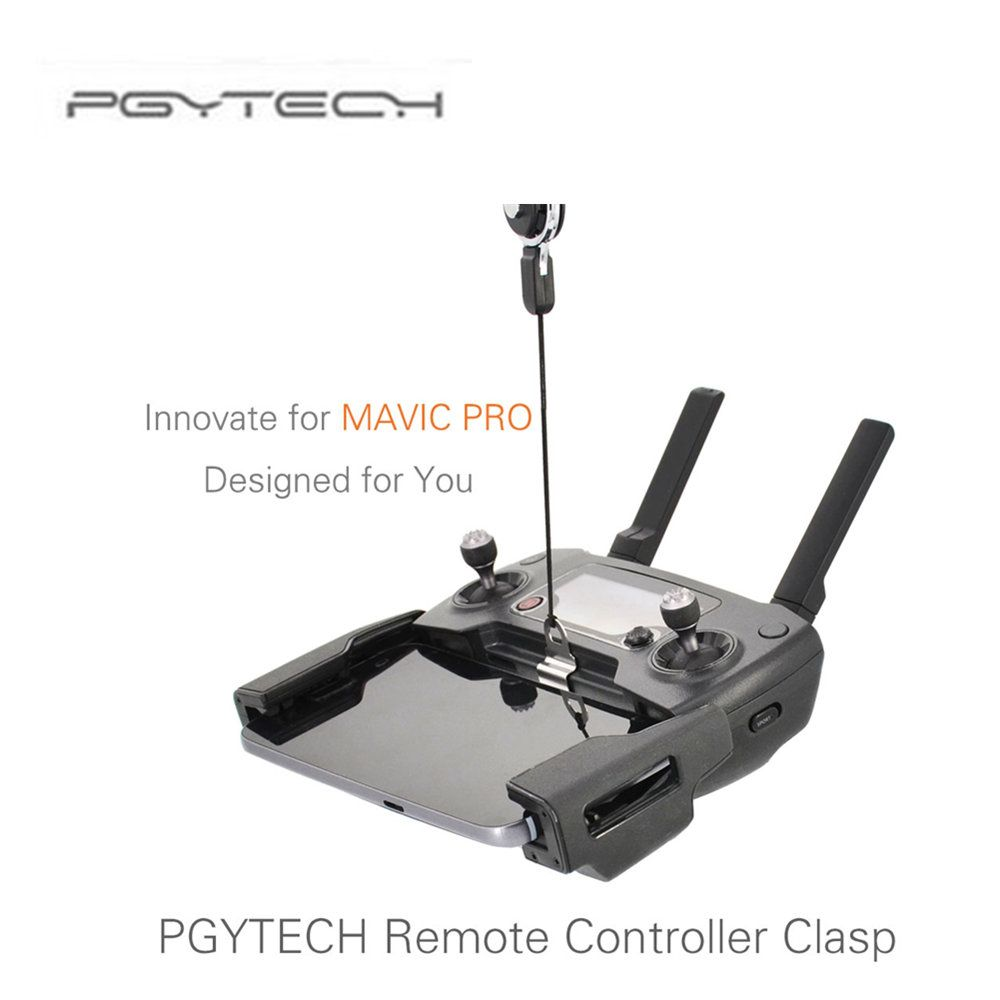PGYTECH Remote Controller Clasp Length of the Lanyard is Adjustable Neck Sling for MAVIC PRO Drone Profissional Accessories