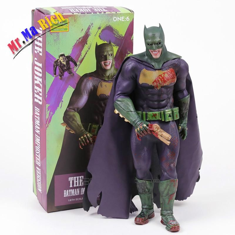 Crazy Toys The Joker Batman Imposter Version 1/6th Scale Collectible Figure Toy 30cm